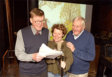 Alan Bennett, Imelda Staunton and Richard Briers